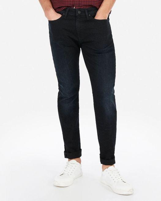 Quần Jean Nam Express Slim Dark Wash Hyper Stretch Jeans Dark Wash