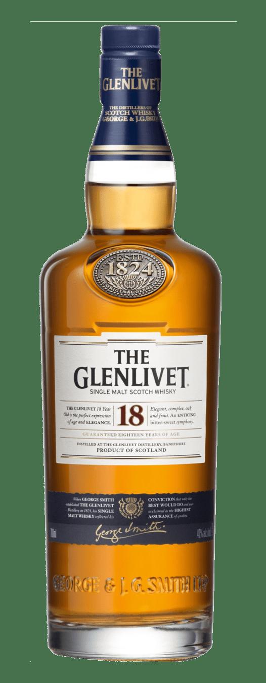 Rượu Whisky Glenlivet 18YO 70CL