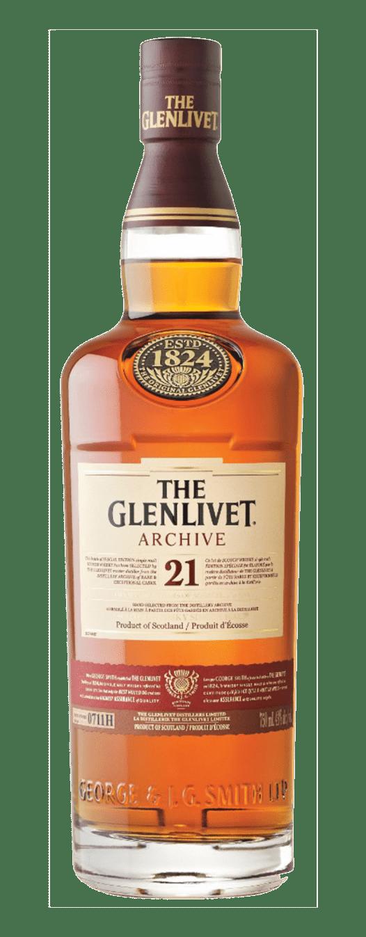 Rượu Whisky Glenlivet 21YO 70CL