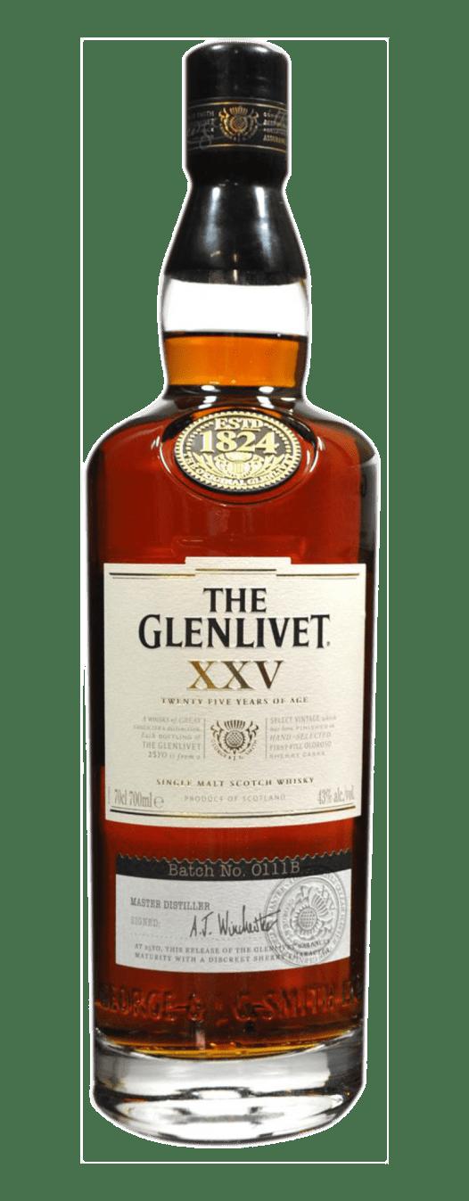 Rượu Whisky Glenlivet 25YO 70CL