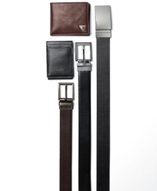 Thắt Lưng Nam Calvin Klein Reversible Dress Belt Black & Brown