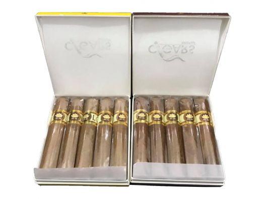 Cigar Lotus No1 (Hộp giấy 5 điếu vàng)
