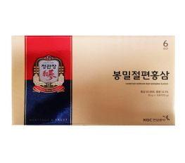 Hồng Sâm Tẩm Mật Ong KGC (Hộp 06 gói x 20g)