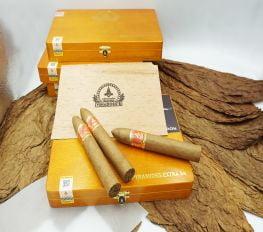 Cigar Vinaboss Pyramides Extra 54 (Hộp gỗ vàng 10 điếu)