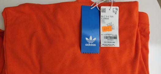 Áo Thun Adidas Nam Thể Thao Màu Cam