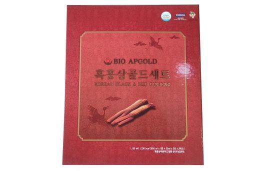 Nước Hắc Sâm Bio Apgold Chai 900ml