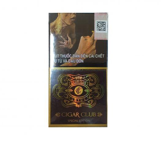 Cigar Lotus Club (Hộp giấy 10 điếu)