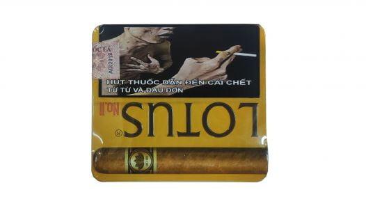 Cigar Lotus No2 (Hộp sắt 5 điếu)