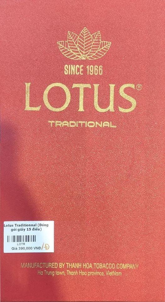 Cigar Lotus Traditionnal