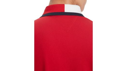 Áo Polo Nam Tommy Hilfiger Men's Custom Fit Signature Polo Apple Red