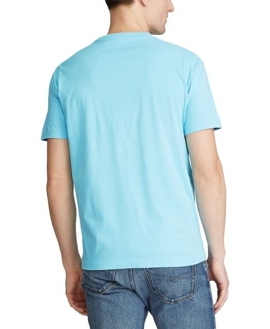 Áo Thun Nam Polo Ralph Lauren Men's Classic Fit Crew Neck T-Shirt Neptune