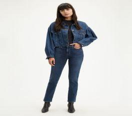Quần Jean Nữ Levi's 312 Shaping Slim Women'S Jeans Maui Ocean Depths Dark Wash