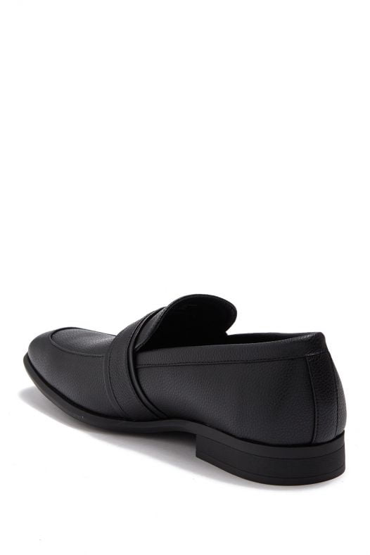 Giày Nam Calvin Klein Lancelot Tumbled Smooth Loafer Black