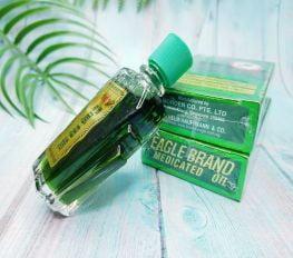 Dầu Gió Xanh Con Ó Mỹ Eagle Brand Medicated Oil - 24ml