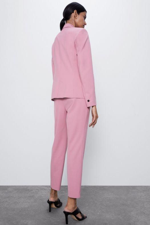 Quần Tây Nữ Zara Cigarette Pants Pink