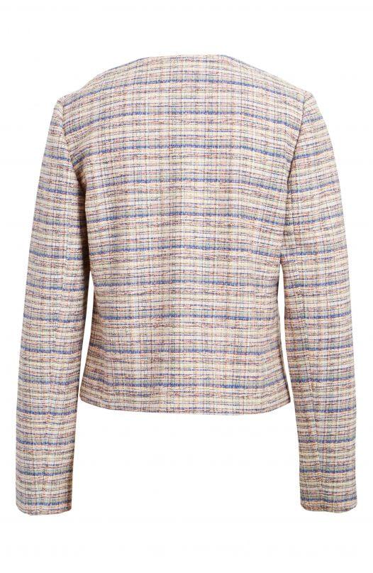 Áo Khoác Nữ Halogen Tweed Jacket Ivory Multi Tweed