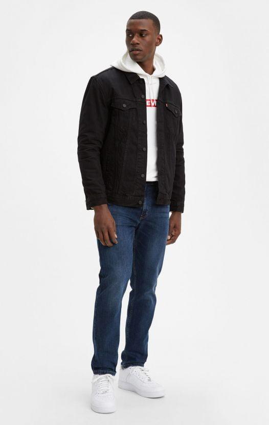 Quần Jean Nam Levi's 502™ Taper Fit Levi'S® Flex Men'S Jeans Panda - Dark Wash