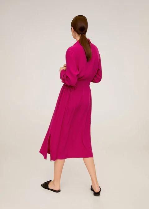 Đầm Nữ Mango Elea6 Pink