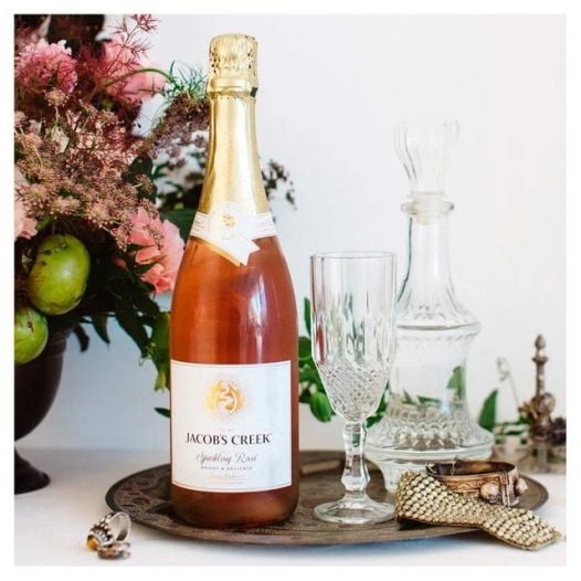 Rượu Vang Jacob's Creek Sparkling Rose 75Cl