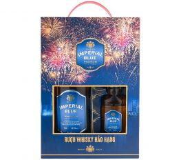 Rượu Whisky Imperial Blue 70CL/18CL - Hộp Quà Phụ Tử 2021