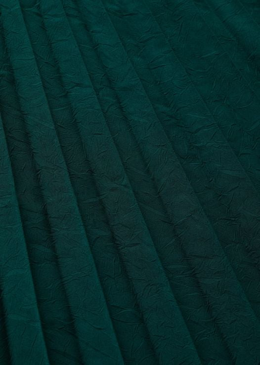 Váy Nữ Mango Pleated Midi Skirt Dark Green