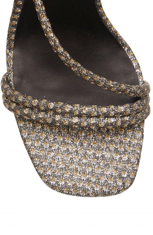 Sandal Nữ Rebecca Minkoff Nanine Sandal Silver