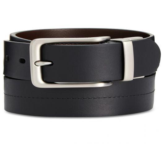 Thắt Lưng Nam Fossil Brandon Reversible Leather Belt Black
