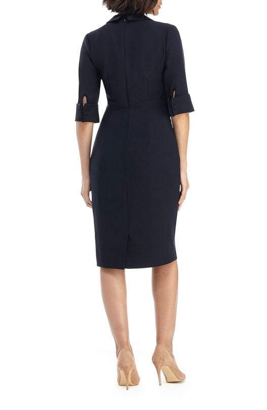 Đầm Nữ Maggy London Midi Shirtdress Dark Navy
