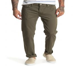 Quần Jean Nam Levi's 511 Slim Leg Jeans Inseam Olive Night