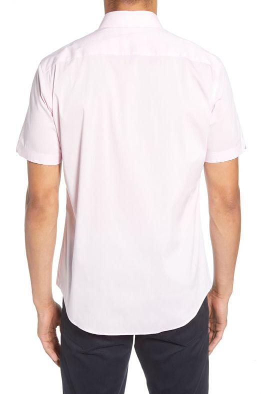 Áo Sơ Mi Nam Zachary Prell Baumann Regular Fit Shirt Pink