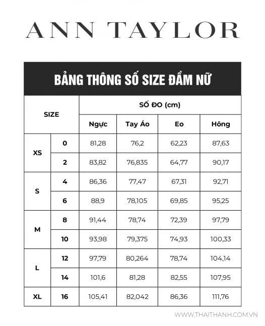 Đầm Nữ Ann Taylor Floral Midi Wrap Dress Black