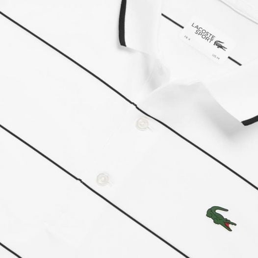 Áo Polo Nam Lacoste Presidents Cup Striped Breathable Stretch Jersy Golf