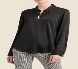 Áo Sơ Mi Nữ DKNY Black