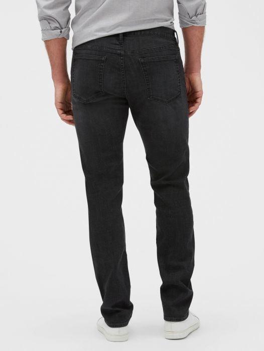 Quần Jean Nam Gap Soft Wear Slim Fit Jeans with GapFlex Dark Gray