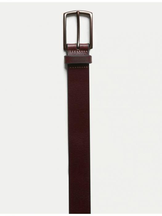 Thắt Lưng Nam Banana Republic Leather Belt Wine
