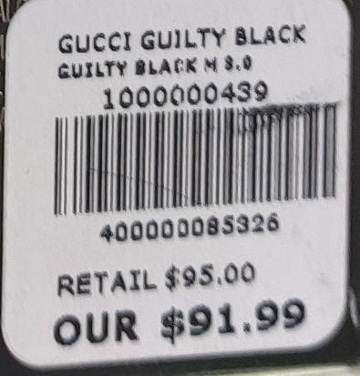 Nước Hoa Nam Gucci Guilty Black Pour Homme Eau de Toilette