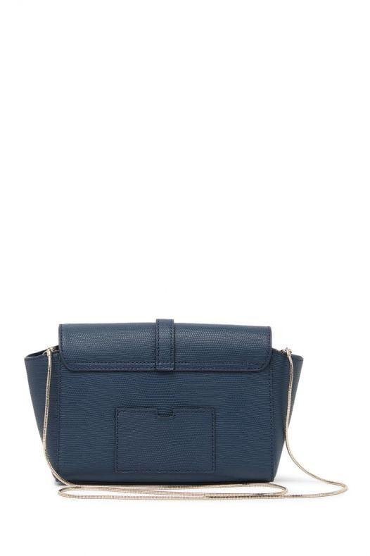 Túi Xách Nữ Kate Spade New York Riverside Street Emmie Embossed Leather Crossbody Bag Petrol Blue