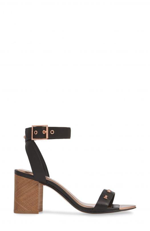 Sandal Nữ Ted Baker London Biah Ankle Strap Sandal Black