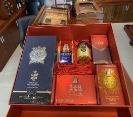 Set Quà Tết Royal Salute 32 Kèm Saffron & Sâm Hàn Quốc
