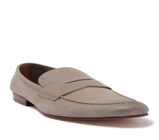 Giày Nam Gordon Rush Wilfred Penny Loafer Tan Suede