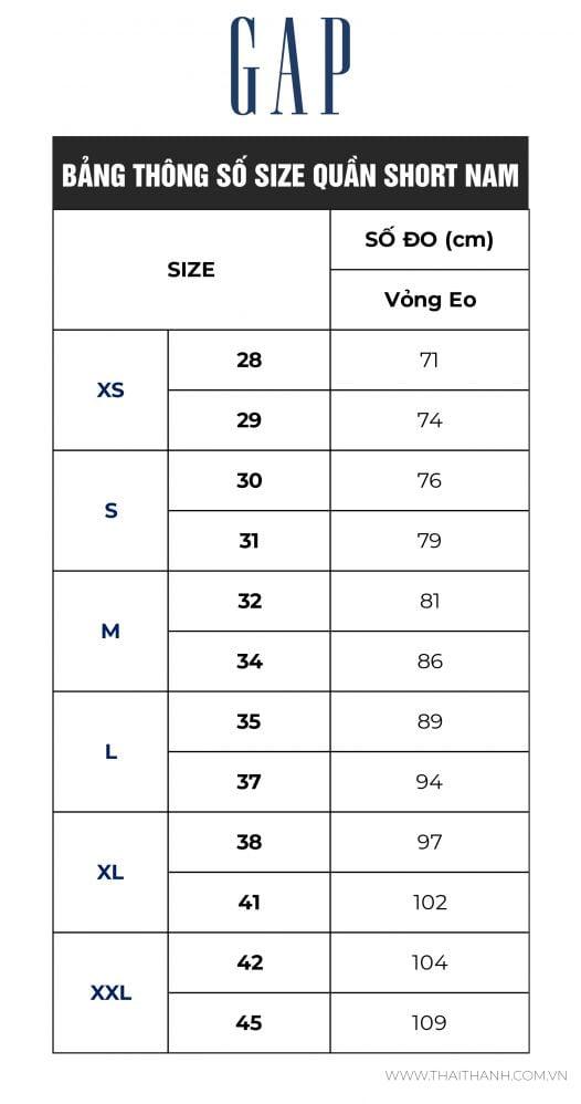 Quần Short Nam Gap 10 Essential Khaki Short Carls Stone
