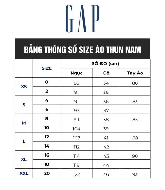Áo Thun Nam Gap Everyday Crewneck Tee Charcoal True Black
