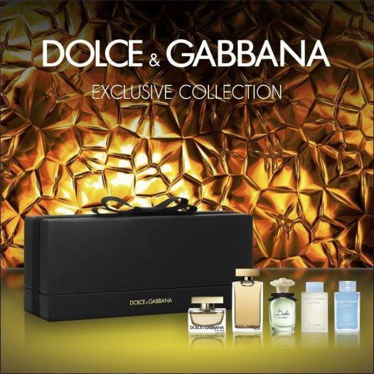 Set Nước Hoa Nữ Dolce & Gabbana Miniature - 5 Chai Nhỏ