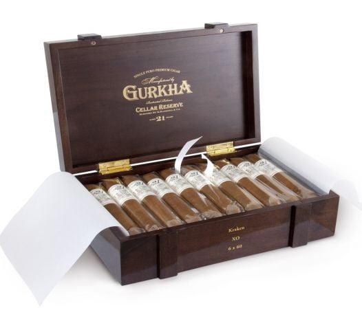 Cigar Gurkha Cellar Reserve 21năm - Hộp 60 Điếu