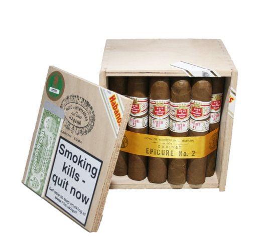 Cigar Hoyo de Monterrey Epicure No2 4 7/8 x 50 - Hộp 25 Điếu