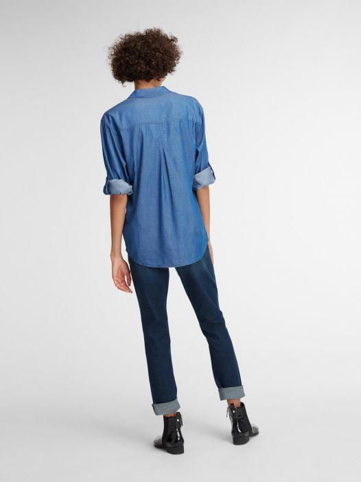 Quần Jean Nữ DKNY The Curvy Skinny Jean Indigo