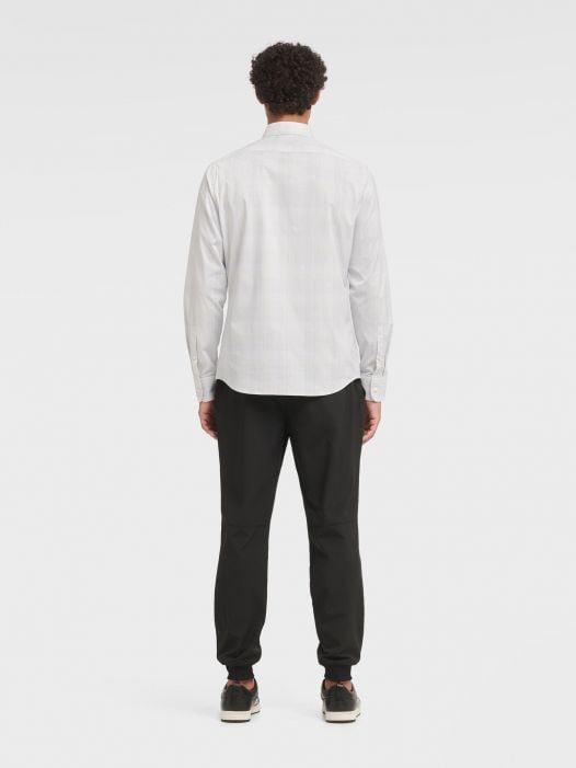 Áo Sơ Mi Nam DKNY Plaid Long Sleeve French Placket Shirt High Rise