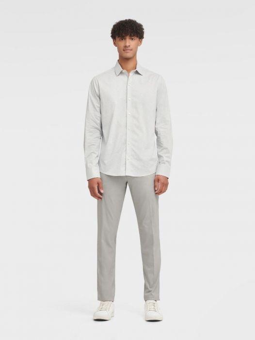 Áo Sơ Mi Nam DKNY Printed Long Sleeve French Placket Shirt High Rise