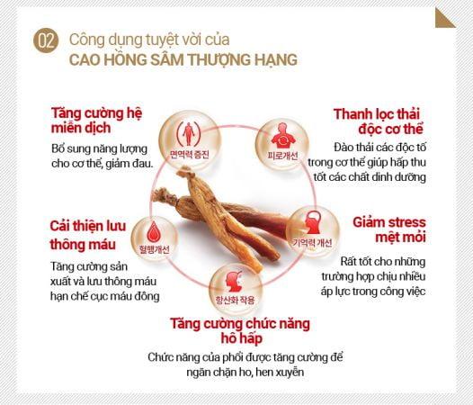 Tinh Chất Hồng Sâm Thượng Hạng KGC Extract Limited 100g