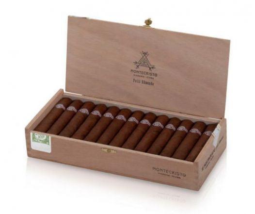 Cigar Montecristo Petit Edmundo 4 3/8x52 - Hộp 25 Điếu